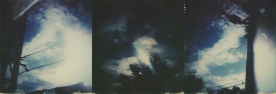 Tryptique blue sky